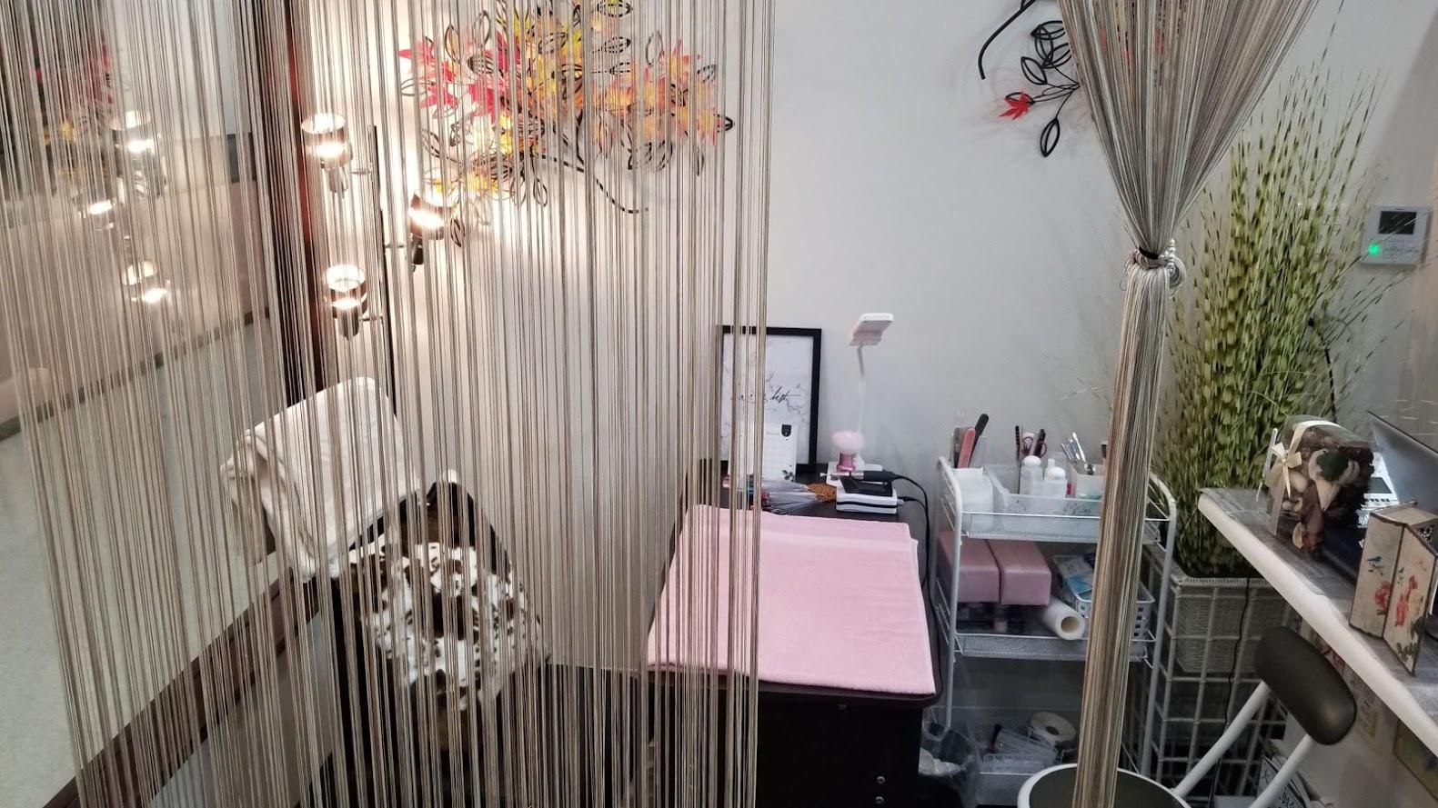 美容室のネイル