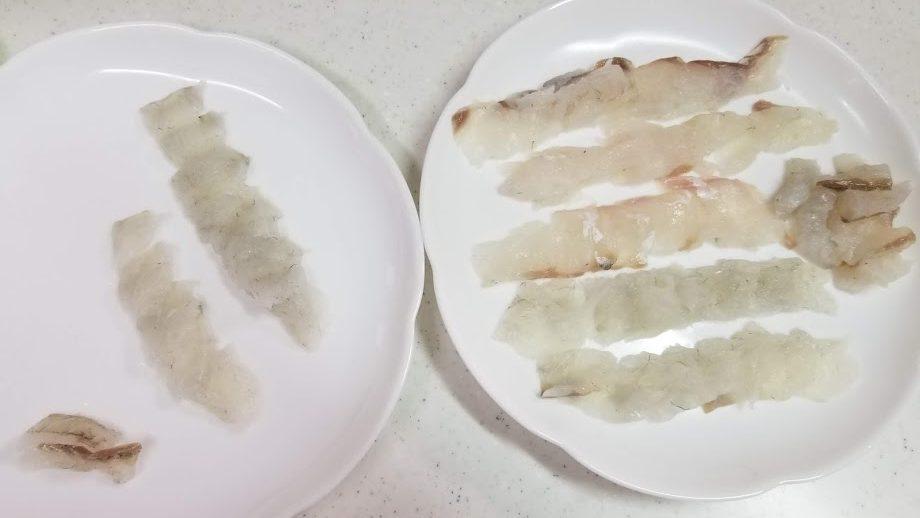 マゴチの刺身の写真②