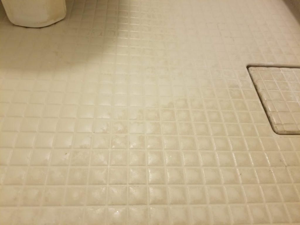 オキシクリーンの床の写真