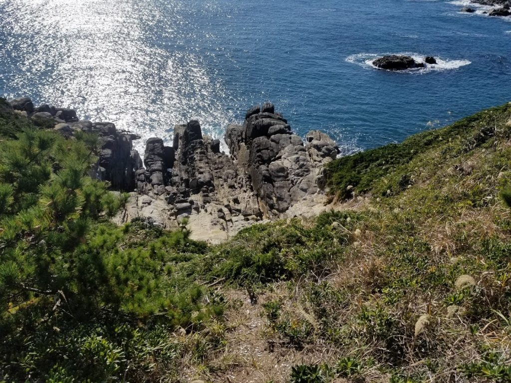 網地島の釣り場