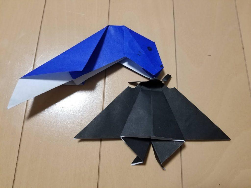 室内遊び折り紙