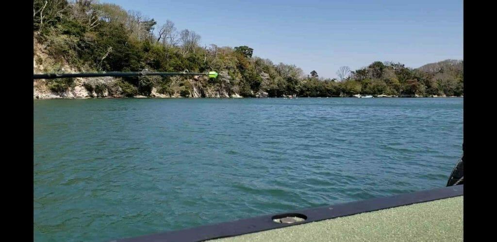 宮城県浦戸諸島でホシガレイ釣り